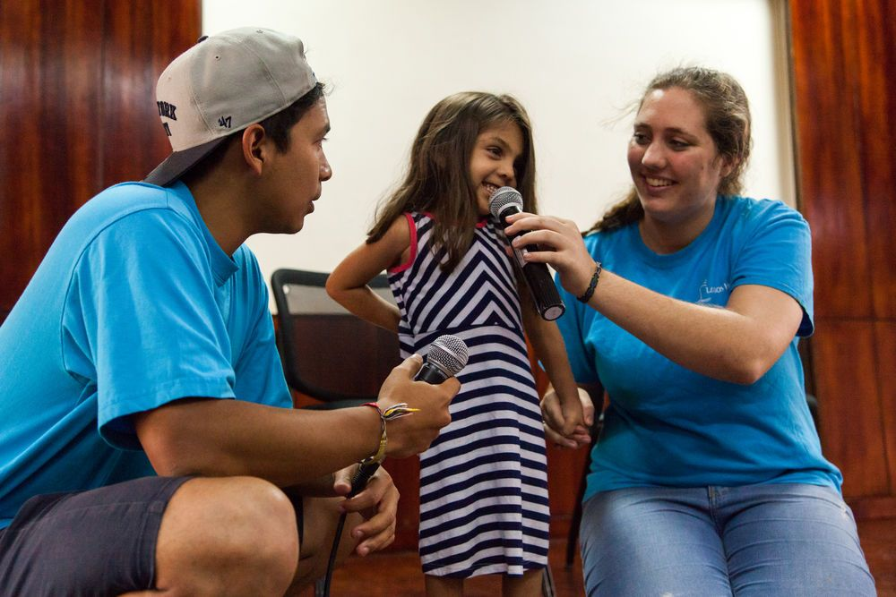 Ecuador: Manta, Ecuador :: A young girl participates in a programme led by a team from Logos Hope. More Info
