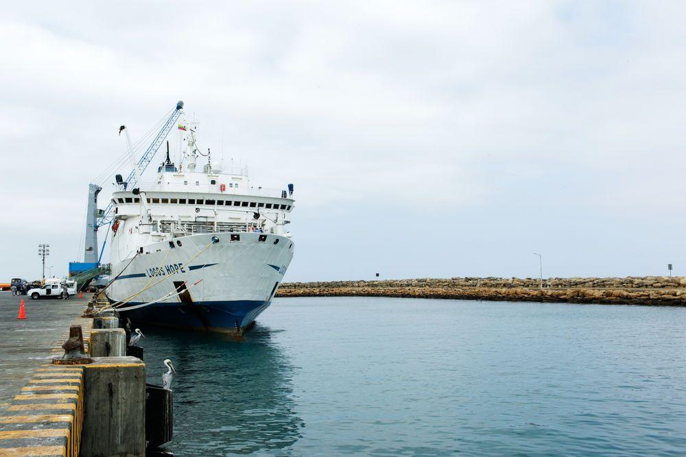 Ecuador: Manta, Ecuador :: Logos Hope in port. More Info