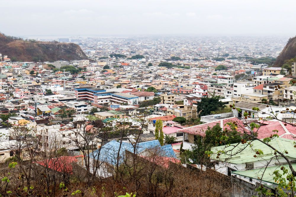 Ecuador: Guayaquil, Ecuador :: A sweeping view of the city from a nearby hill. More Info