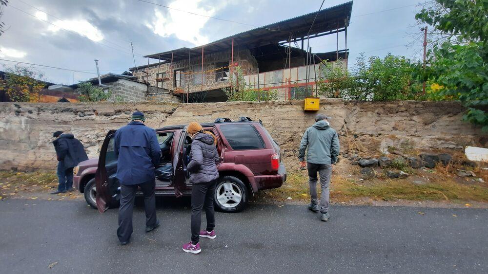 OM-Mitarbeiter in Armenien verteilen Hilfsgüter