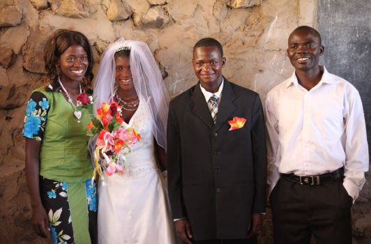 Christian wedding a first for Tongwa village