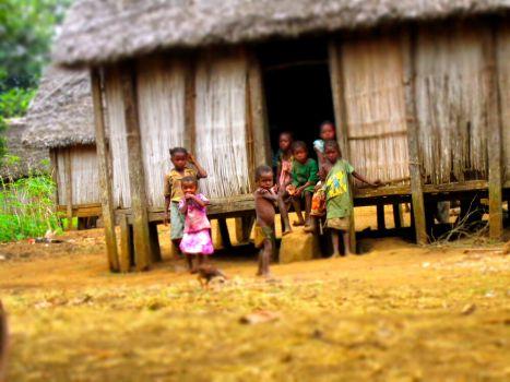 Children in Maroala