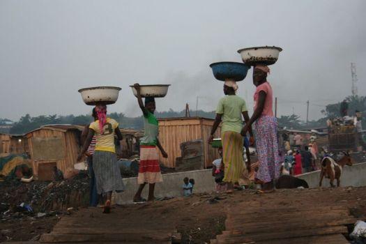 Kayaye ladies from Ghana