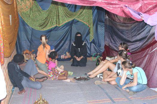 Mission Disclipeship Trainees Host Children's Mission Event