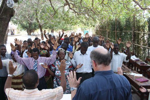 Teaching at Mocuba