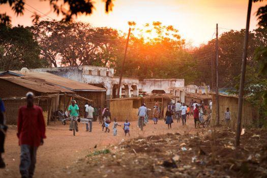 Malawi street scene