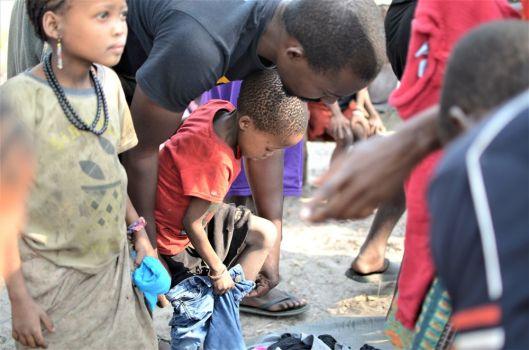 Visiting the Bushmen of Angola 21