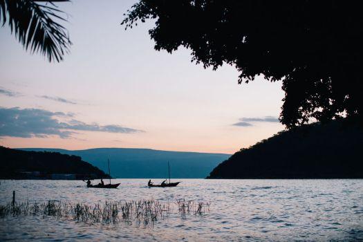 Scenic view of Lake Tanganyika. -Photo by Doseong Park