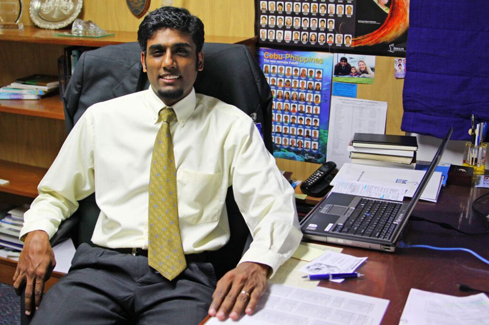 Ships: Singapore, Singapore :: Newly appointed Director Seelan Govender (South Africa). More Info