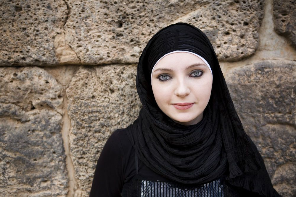 International: Beautiful - Young Muslim Woman