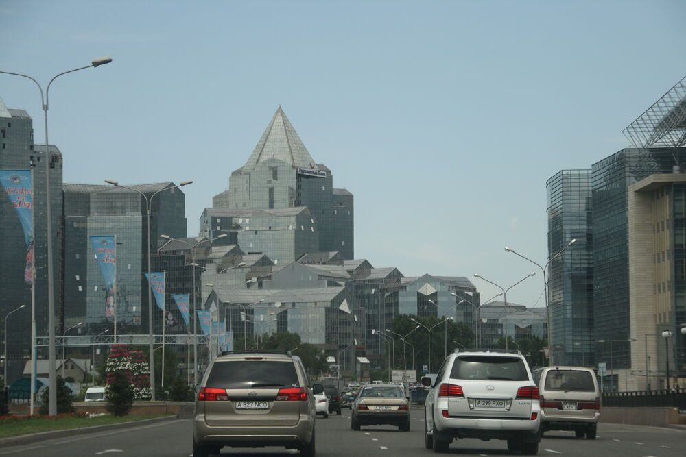 Central Asia: Modern Kazakh city More Info