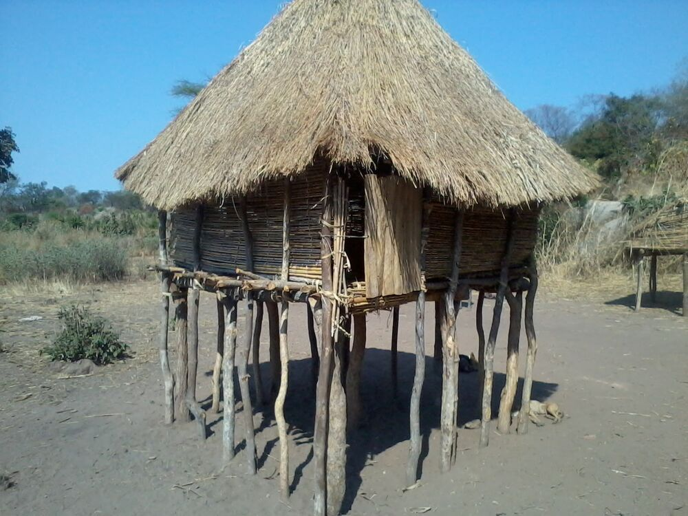 The Dema People of Zimbabwe build their houses up to avert predators