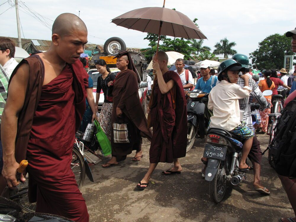 Within Yangon city limits, it is illegal to drive trishaws, bicycles and motorcycles. Due to lack of sufficient infrastructure in Dala township, trishaws can be hired at the ferry station.
