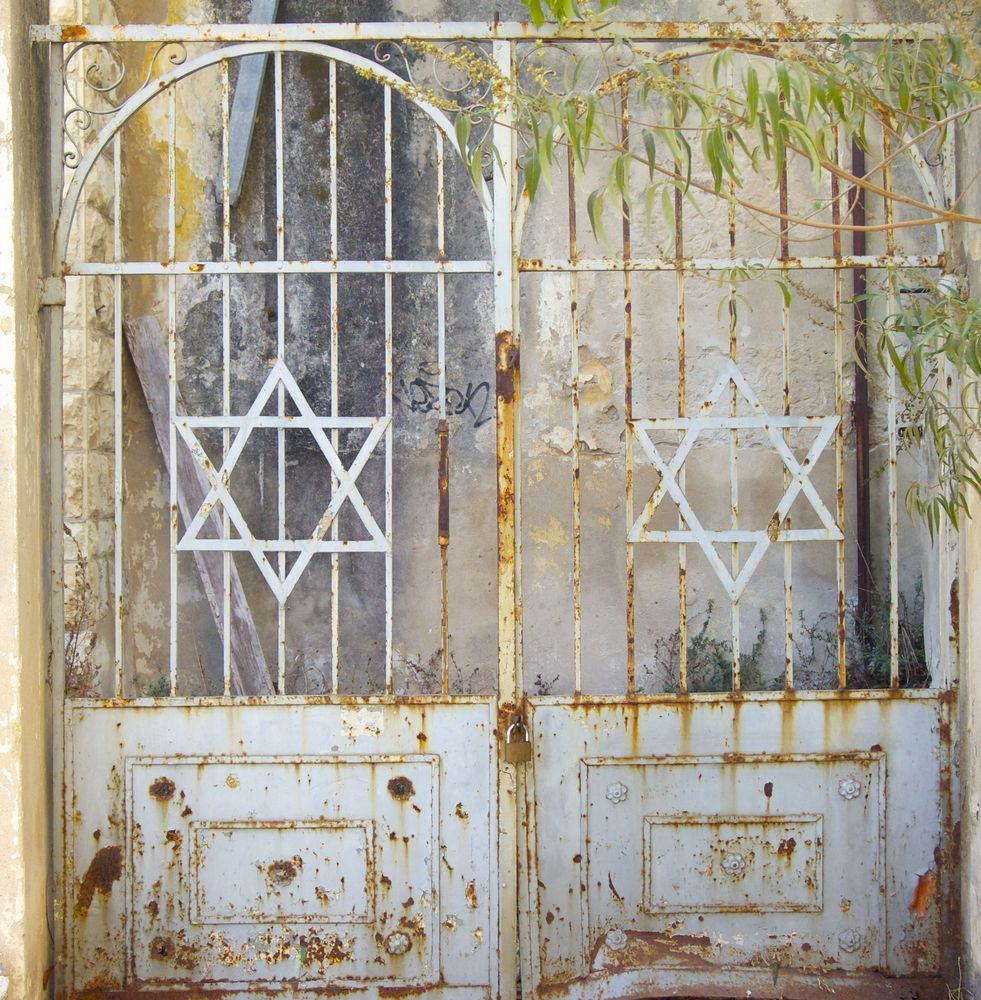 Israel: A beautiful old rusted gate adorned with the Star of David. Photo by Inga Riley More Info