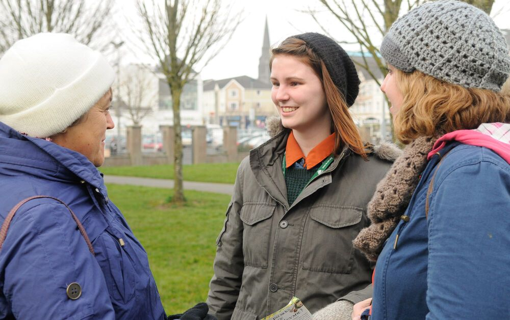 Ireland: OM Ireland does street evangelism in Athlone. More Info
