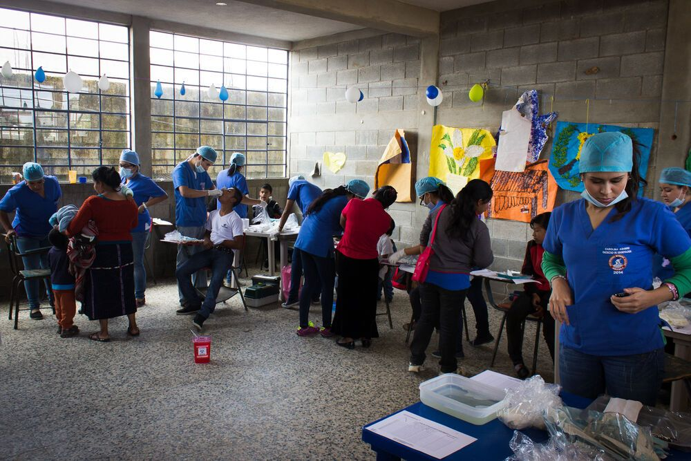 Guatemala: A quick look into the simple clinic installed in a local school in Guatemala as part of a dental outreach of OM Guatemala. More Info