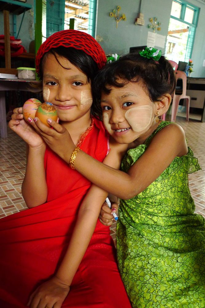 Myanmar: OM Myanmar runs three kindergartens, in the hope that those who attend will learn about the love of Jesus at a young age. More Info