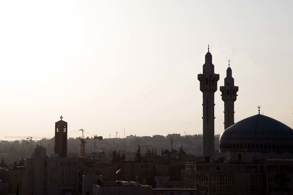 Near East: Church bells mingle with the mosque's call to prayer; steeples and minarets both punctuate the skylines of cities in the Near East.  Photo by Josiah Potter More Info