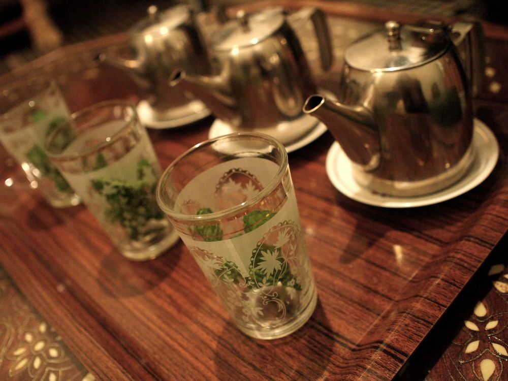 North Africa: If we have three glasses if tea together, we are friends  - North African proverb. More Info