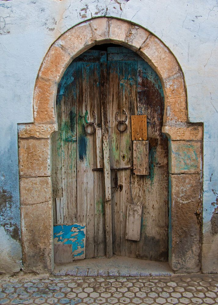 North Africa: Changing door locks leads to a decades-long relationship for one worker in North Africa.  Photo by Paul Smith  More Info