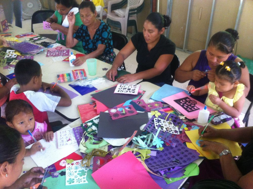 Costa Rica: Indigenous women of Talamanca in the mountains of Costa Rica are creating cards to give words of encouragement to each other. OM Costa Rica wants them to build each other up with the Love of God.  More Info