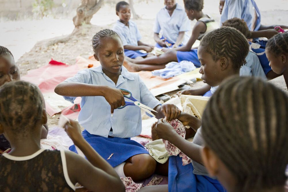 Zambia: The Pure Girls teaches vulnerable girls skills to enable and empower them.  More Info