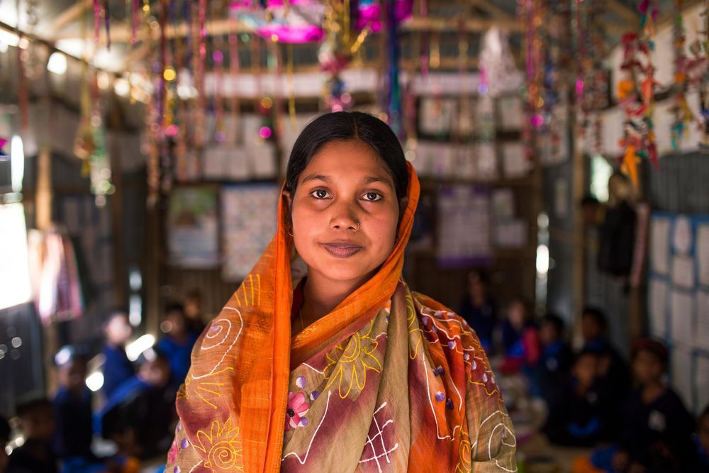 Bangladesh: This strong woman is lifting up the next generation of world changers in Bangladesh. More Info