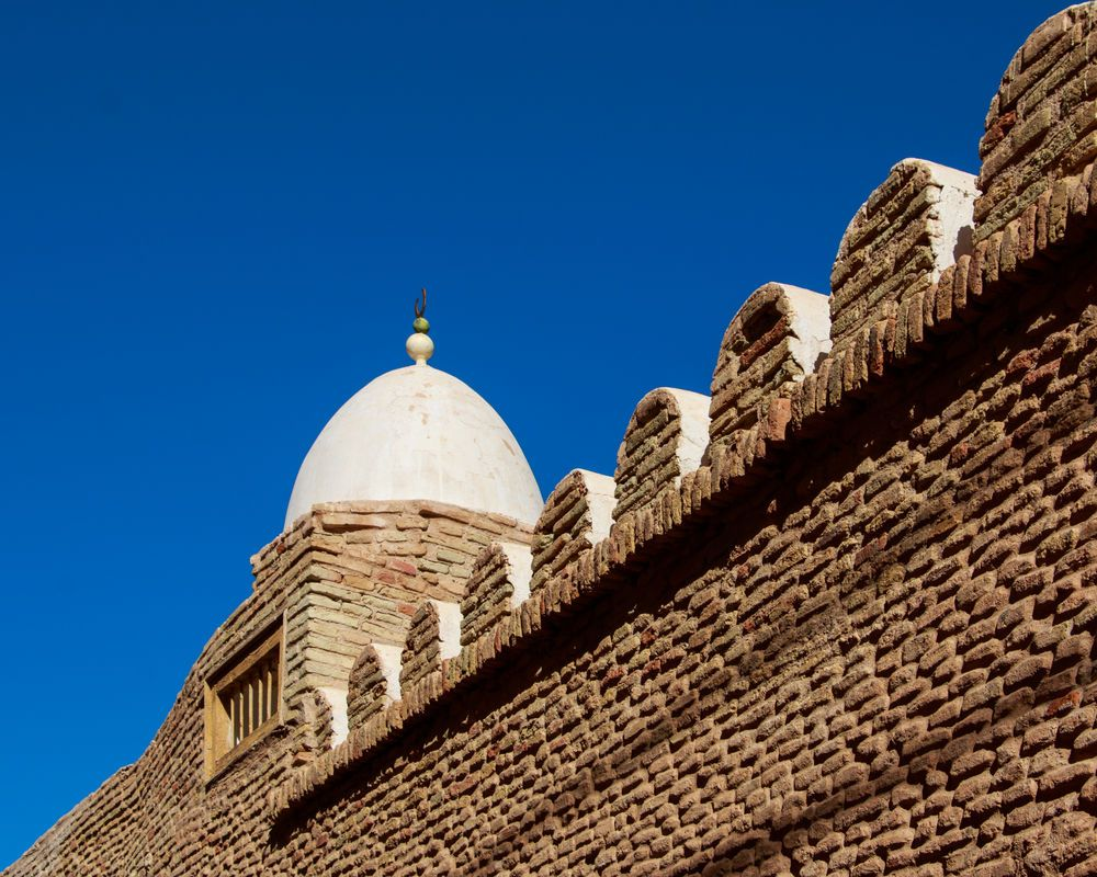 North Africa: Dome of a mosque in North Africa.  Photo by Paul Smith More Info