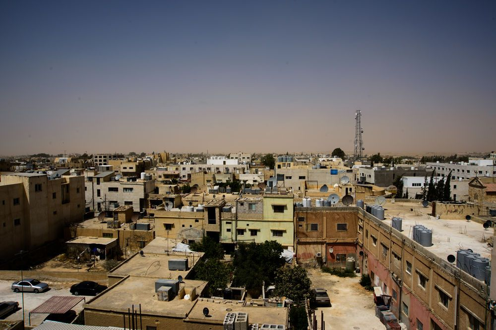 Near East: The flat rooftops line the sand-colored cities of the Near East Field.  