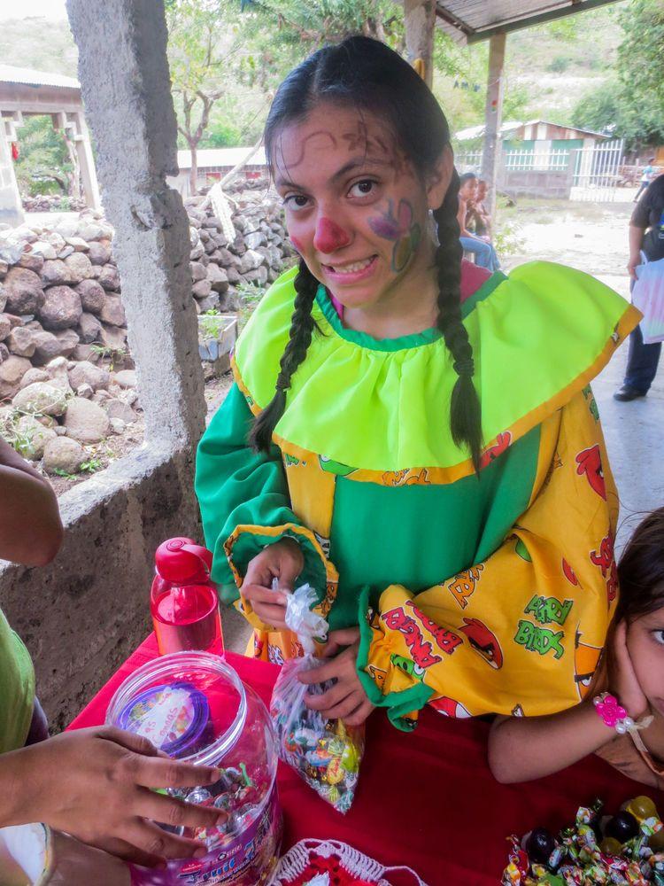 El Salvador: Abigail Quintanilla is a volunteer with OM El Salvador and has much love for children More Info