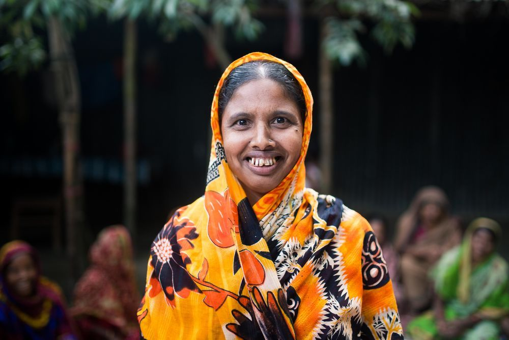 Bangladesh: Learning to read and write gives dignity and honour to women in Bangladesh. Photo by Justin Lovett More Info
