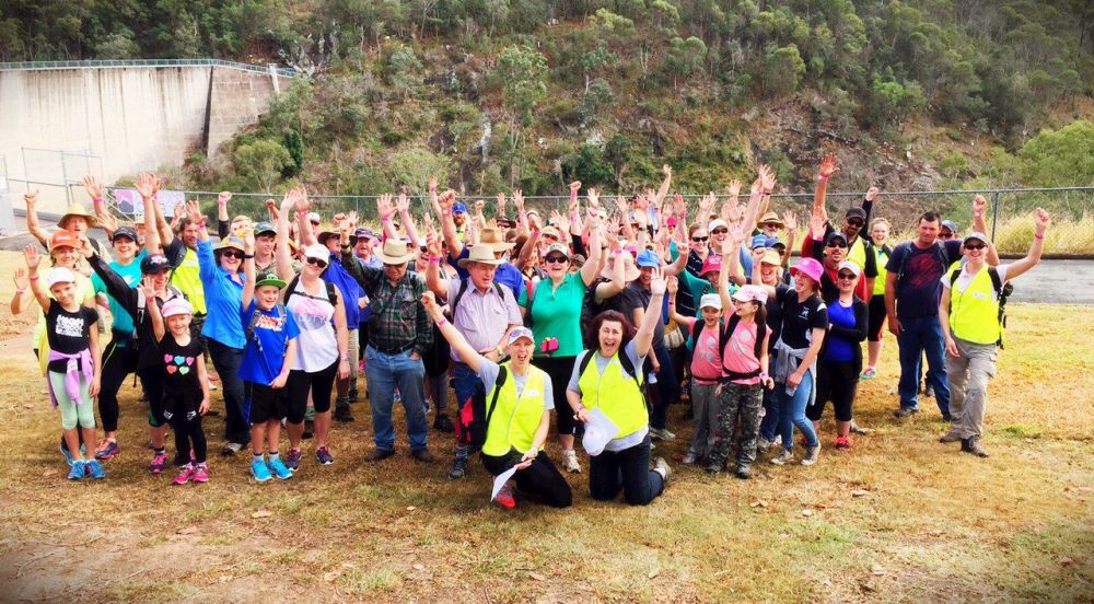 On Saturday August 22, 150 people gathered at Moogerah Dam for the inaugural Boonah Freedom Climb.