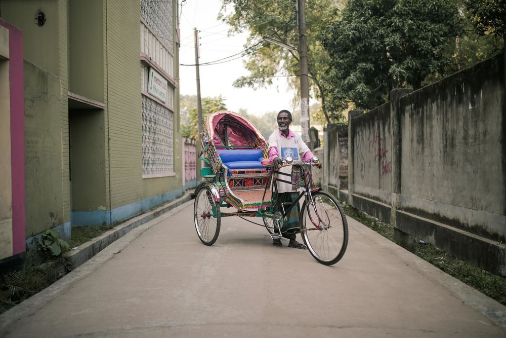 Bangladesh: Through OMs sports initiative this man is now the proud owner of his own rickshaw. This provides a fresh start to break free from the cycle of poverty. Receiving a rickshaw is an amazing joy. More Info
