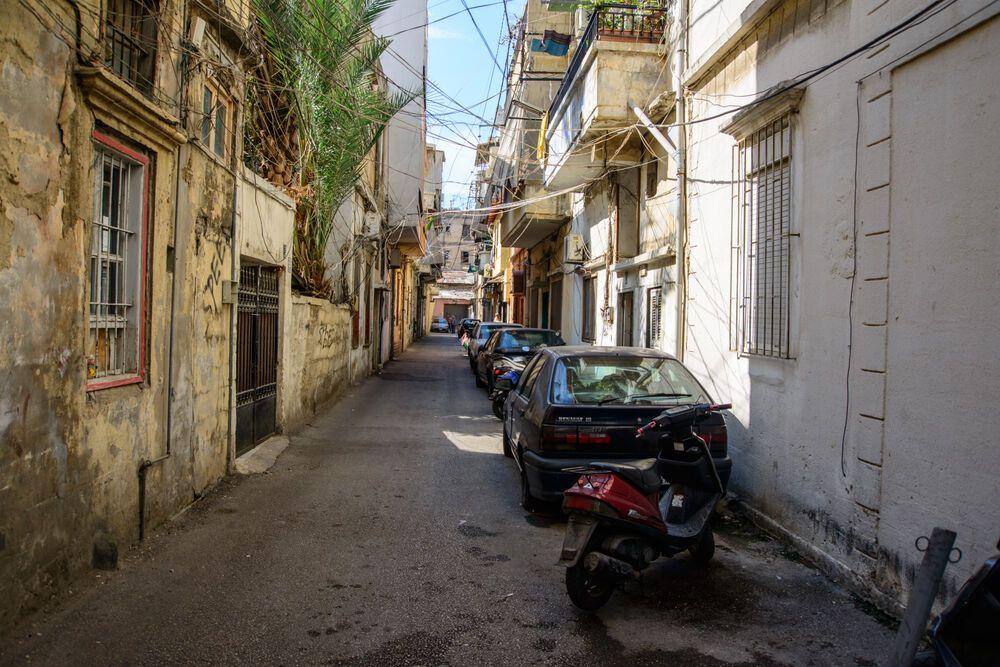 Near East: Narrow roads lead to homes in the Near East.  Photo by Garrett Nasrallah More Info