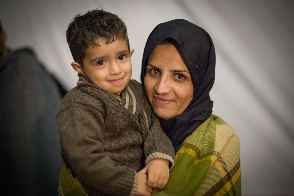 North Africa: OM Greece: Refugee mother and child More Info