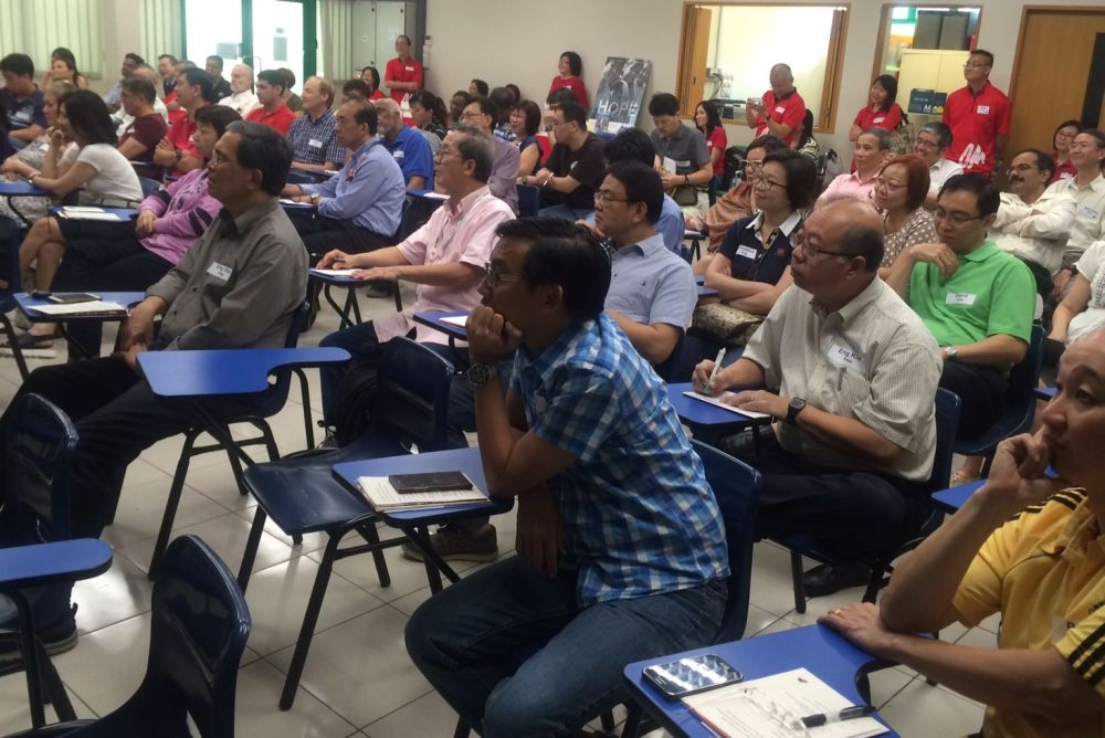 Singapore: Pastors and missions leaders at the OM Missions Exploration Conference 2015 held in Singapore recently. More Info