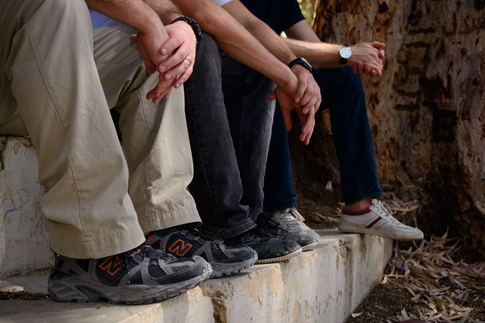 Young men trek through the Middle East and North Africa bringing Scripture to those least reached.   Photo by Garrett Nasrallah