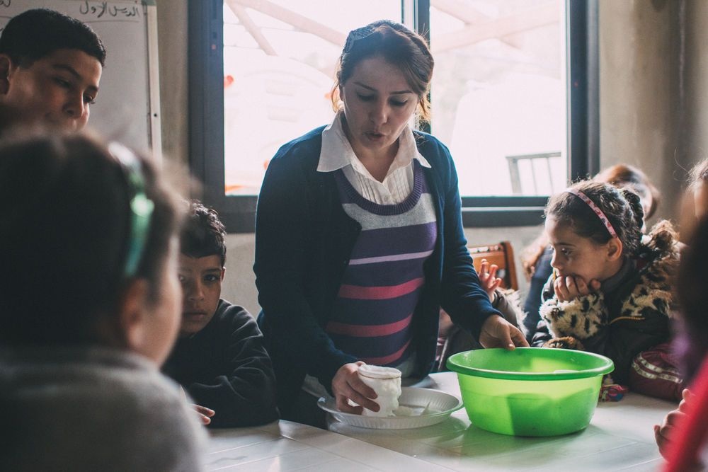 One woman sacrificially advocates for and educates marginalized Syrian children in her village. 