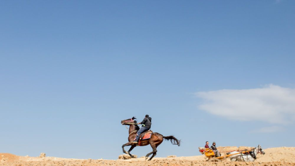 North Africa: Historic sites bring visitors to North Africa.  