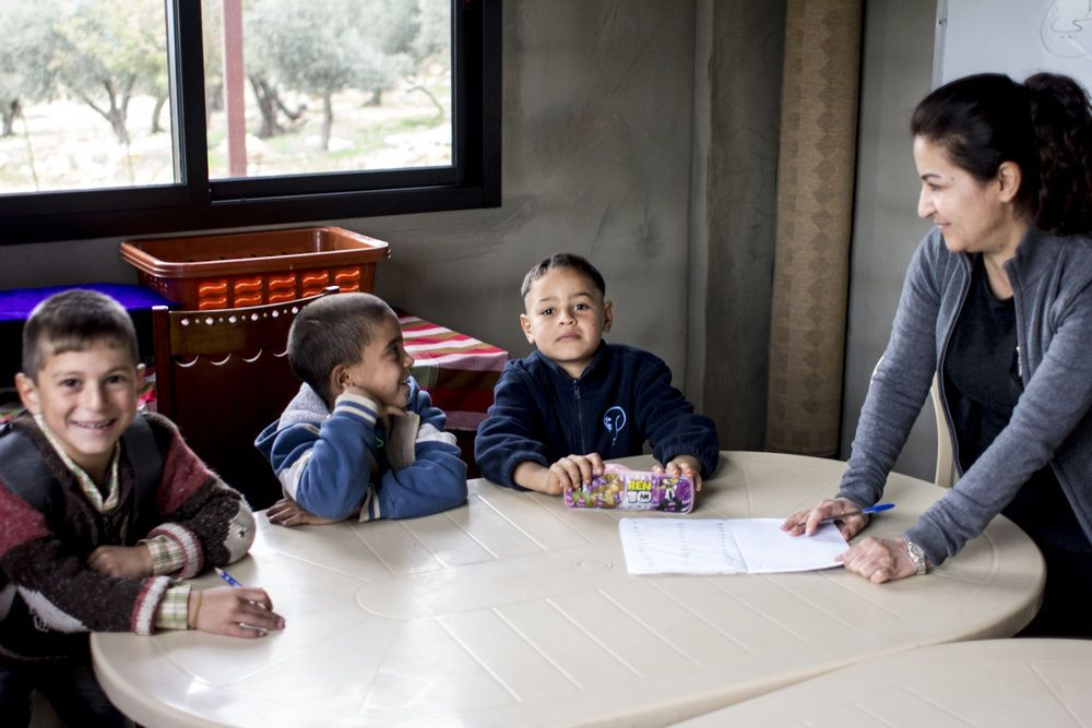 International: Volunteer school teacher of Syrian refugee children explains, We are here for a short time, and whenever God puts people like this in front of us, this is for Him."