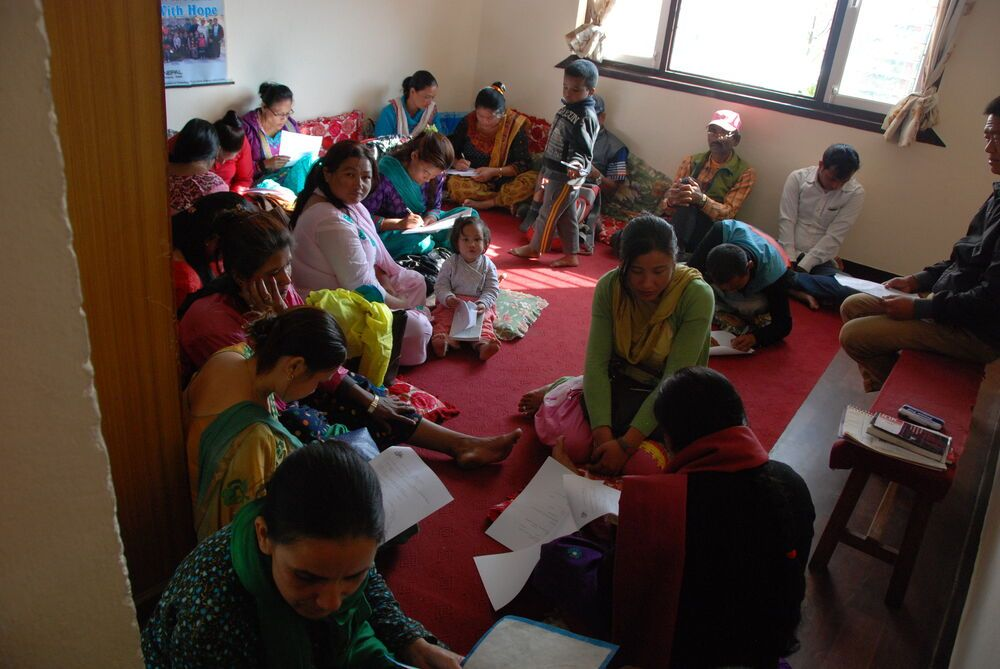 Nepal: OM Nepals AIDS and HIV ministry hosts monthly family meetings to encourage and support families affected by AIDS and HIV. More Info