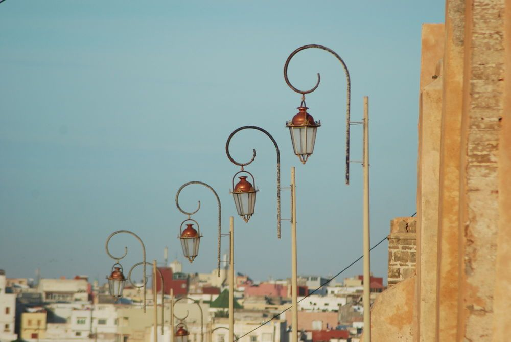 North Africa: Street lights in this North African coastal town, provide a reminder of the importance of being a light in the community.