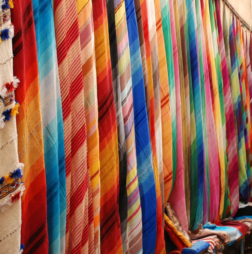 North Africa: Market in North Africa hosts local handicrafts. Photo by Raquel White More Info