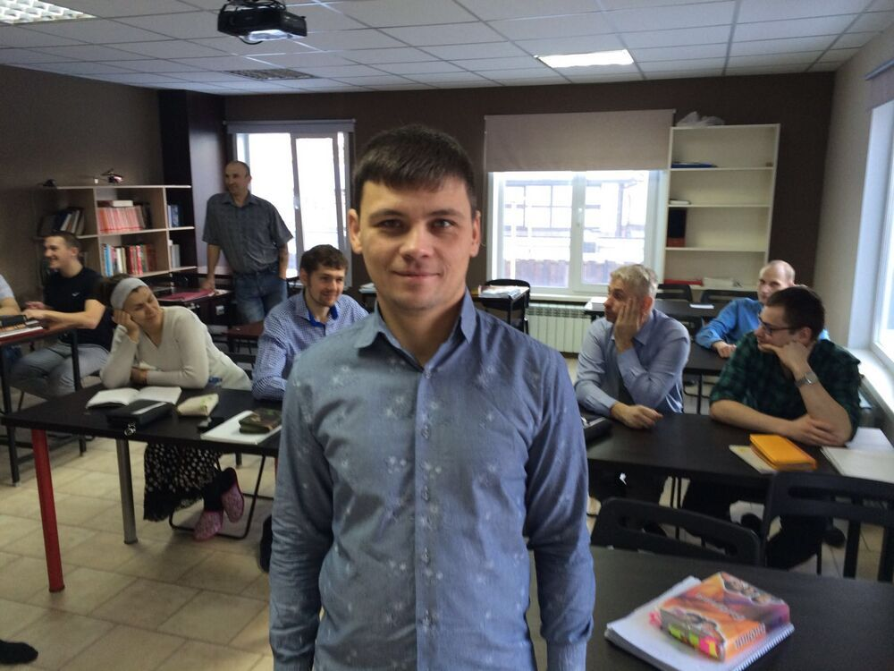 Russia: A student in the Russia Discipleship Centre. More Info