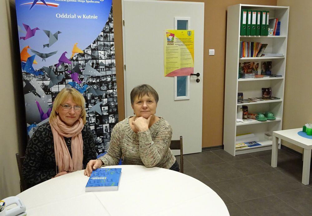 Zosia and Monika, addiction therapists in Kutno, Poland