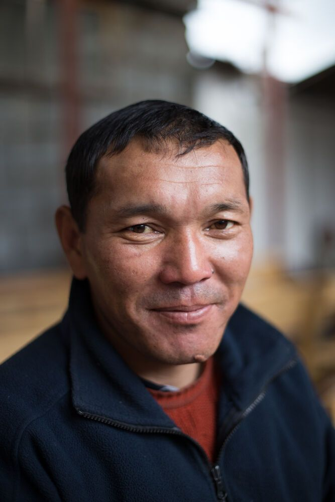 Central Asia: Man in Bishkek, Kyrgyzstan More Info