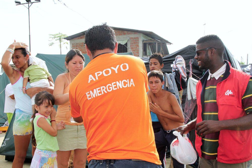 Ecuador: Ecuador Earthquake Relief Efforts More Info
