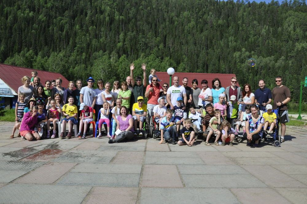 Russia: We had a great camp for children with disabilities (STM - June 2016). More Info
