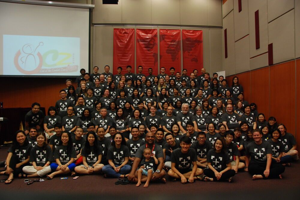 This years participants and volunteers from Out of the Comfort Zone Asia.