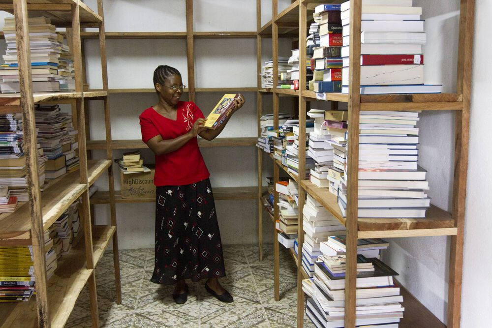 Mozambique: The bookshop in Mocuba, Mozambique is buying books and organizing them in anticipation of opening. More Info